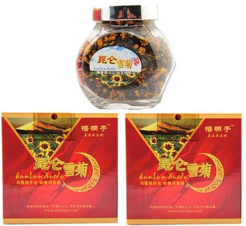 二仙传道-顶级昆仑雪菊两盒装(50克)