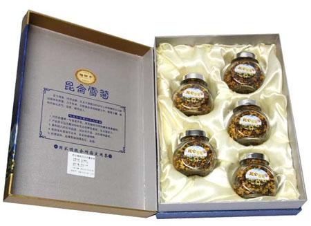 昆仑雪菊礼品豪华装(5瓶 125克)